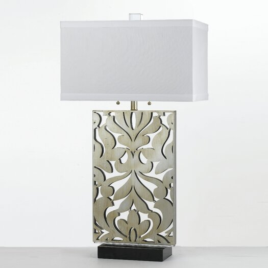 "AF Lighting Candice Olson Daydream 33"" H Table Lamp with Rectangular Shade"