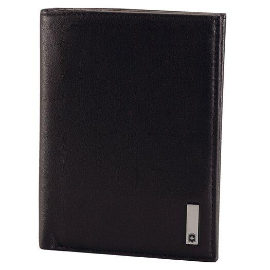 Victorinox Travel Gear Altius™ 3.0 Grenoble Leather Vertical Bi-Fold Wallet with European ID Window