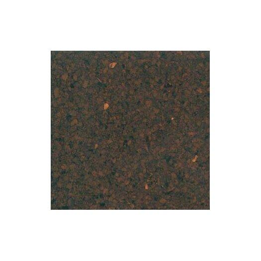 "US Floors Natural Cork Glue Down Parquet Tiles 12"" Homogeneous Cork Flooring in Coffee Matte"