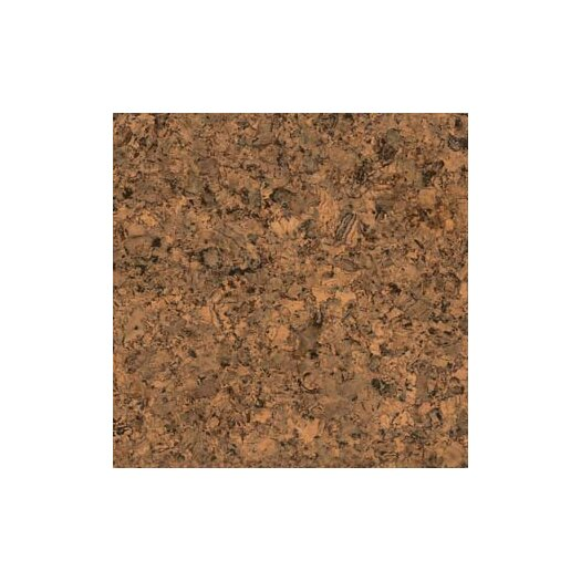 "US Floors Natural Cork 12"" Homogeneous Cork Parquet Flooring in Tabac Matte"