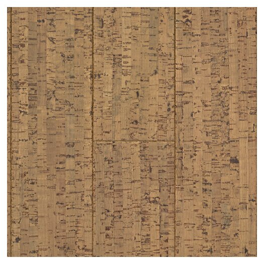 "US Floors Natural Cork New Earth Veneta 4-1/8"" Engineered Locking Cork Flooring in Cera"