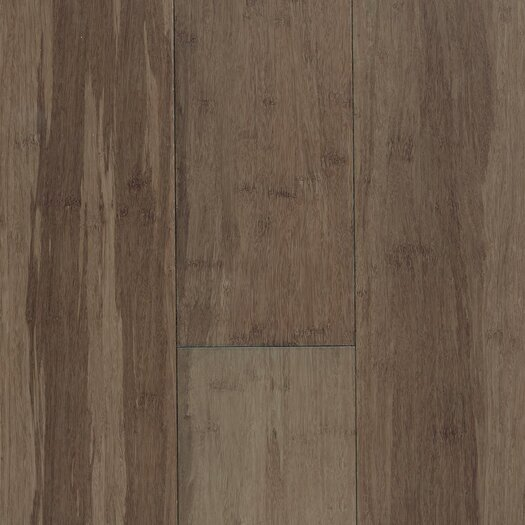 """US Floors Natural Bamboo Expressions 5-1/4"""" Solid Bamboo Flooring in River Rock"""