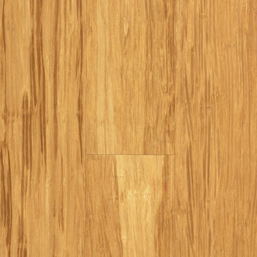 """US Floors Natural Bamboo Expressions 5-1/4"""" Solid Locking Strand Woven Bamboo Flooring in Natural"""