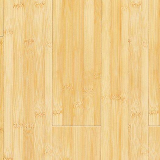 "US Floors Natural Bamboo Traditions 3-3/4"" Solid Bamboo Flooring in Horizontal Natural"