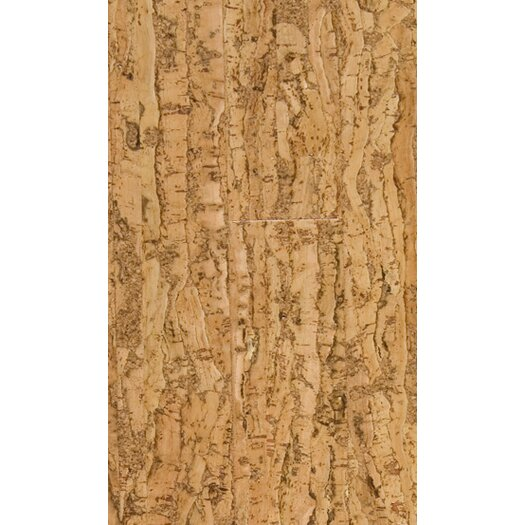 "US Floors Natural Cork New Earth 4-1/8"" Engineered Cork Flooring in Allegro Natural"