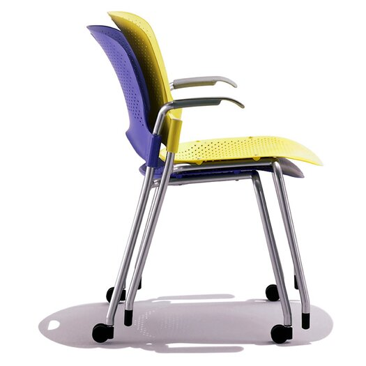 Herman Miller ® Caper Stacking Chair With No Arms