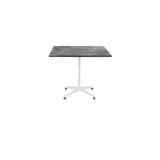 Eames� Outdoor Table with Square Top and Contract Base, 30