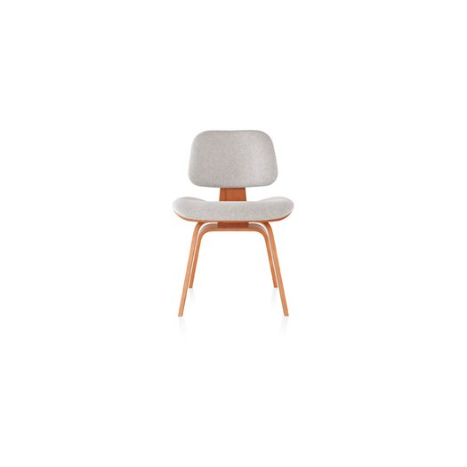 Eames Molded Plywood Dining Chair with Wood Base