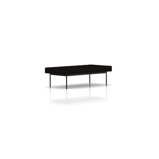 Tuxedo Quilted Bench