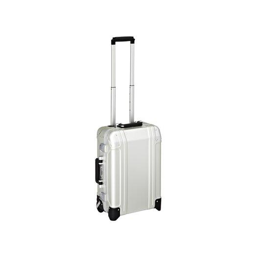 Zero Halliburton Geo Aluminum Carry On 2 Wheel Travel Case