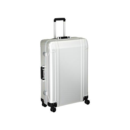 "Zero Halliburton Geo Aluminum 30"" 4 Wheel Spinner Travel Case"