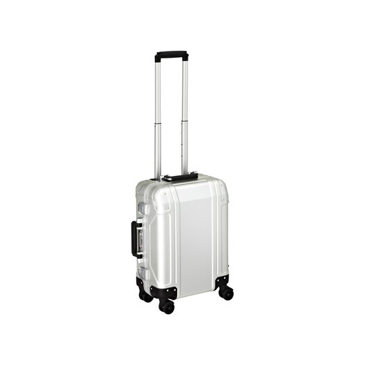 Zero Halliburton Geo Aluminum  Carry On 4 Wheel Spinner Travel Case