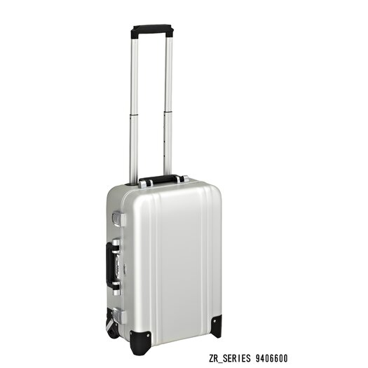 Zero Halliburton Classic Aluminum Carry On 2 Wheel Travel Case