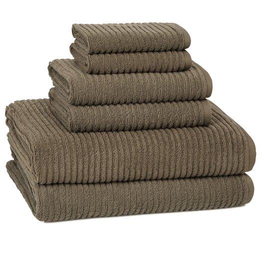 Kassatex Fine Linens Urbane 6 Piece Towel Set