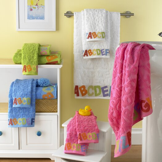 Kassatex Fine Linens Bambini ABC 6 Piece Towel Set