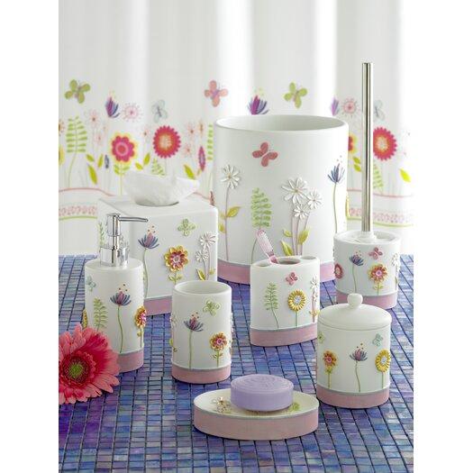 Kassatex Fine Linens Bambini Garden Party Cotton Jar