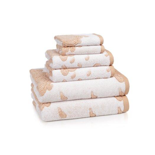 Kassatex Fine Linens Roma 6 Piece Towel Set