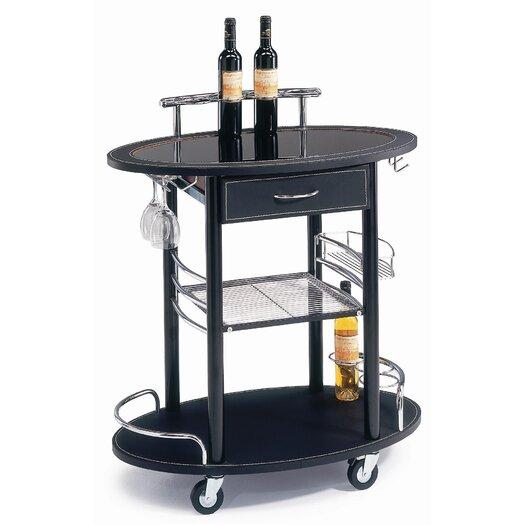 New Spec Inc Serving Cart