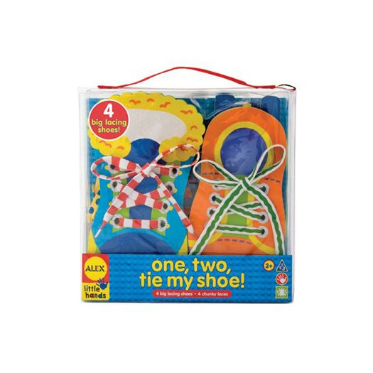 ALEX Toys One Two Tie My Shoe