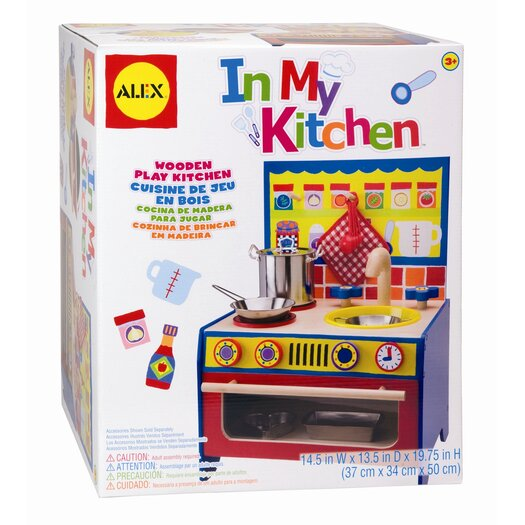 ALEX Toys Play In My Kitchen Set