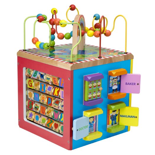 ALEX Toys My Busy Town Activity Cube