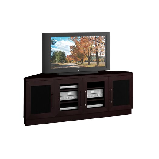 "Furnitech Contemporary 60"" Corner TV Stand"