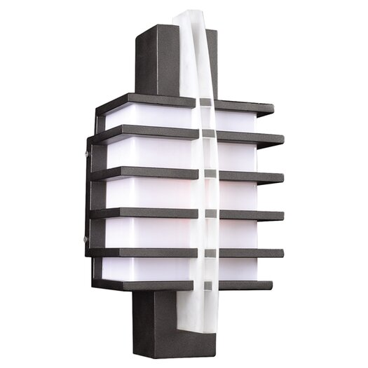 PLC Lighting Carre 1 Light Outdoor Wall Lantern