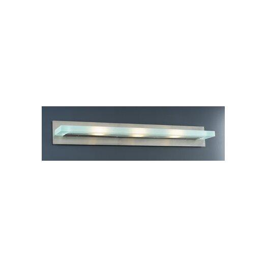 PLC Lighting Slim 3 Light Vanity Light
