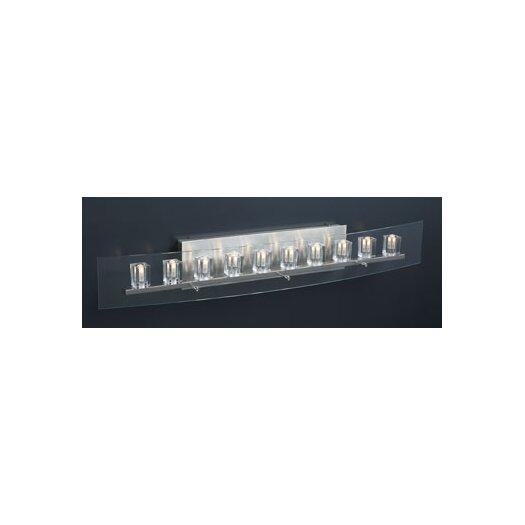 PLC Lighting Ice Cube 10 Light Vanity Light