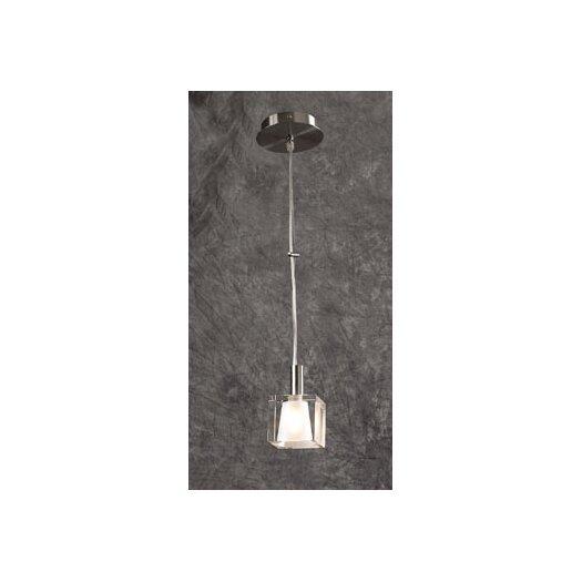 PLC Lighting Ice-I 1 Light Mini Pendant