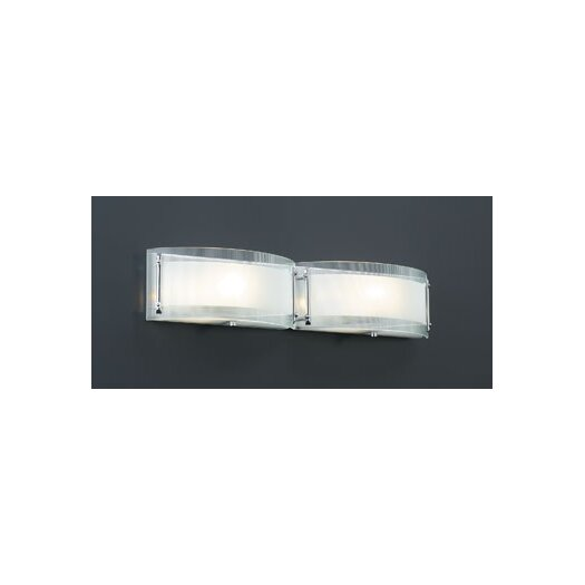 PLC Lighting Millennium 2 Light Vanity Light