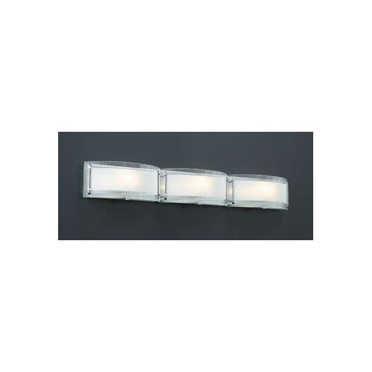 PLC Lighting Millennium 3 Light Vanity Light