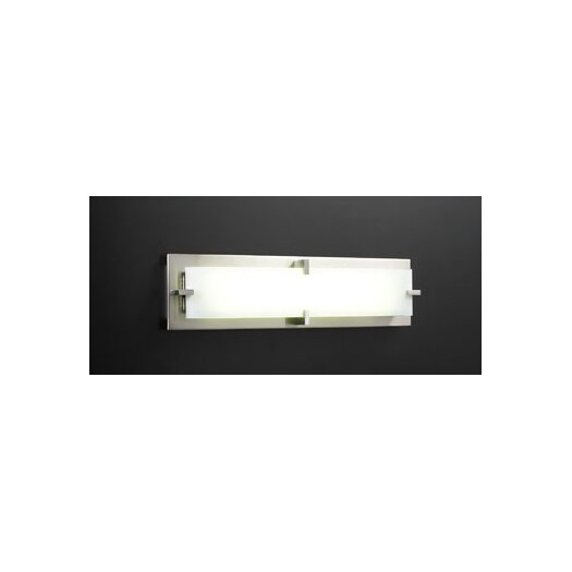 PLC Lighting Polaris/T5 2 Light Vanity Light