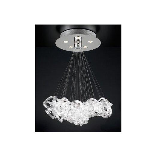 PLC Lighting Elegance 5 Light Pendant
