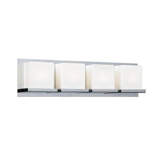 PLC Lighting Furlux 4 Light Bath Vanity Light