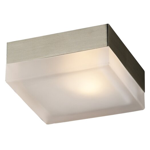 PLC Lighting Praha 1 Light Wall Sconce
