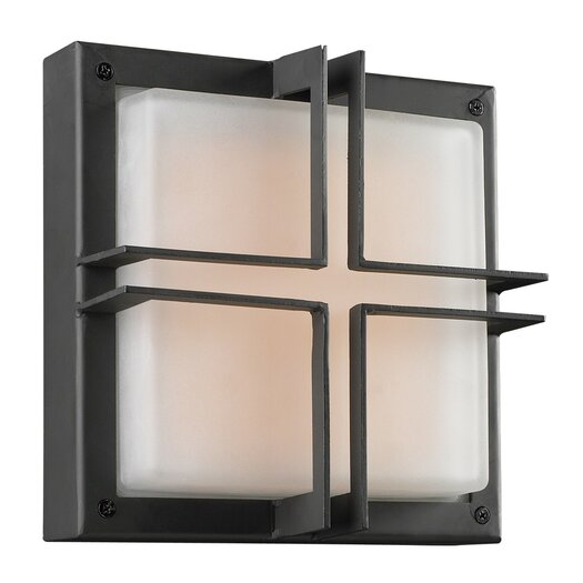 PLC Lighting Piccolo 1 Light Outdoor Wall Sconce