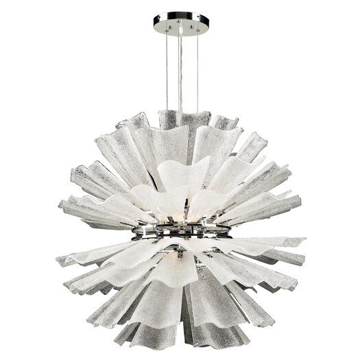 PLC Lighting Enigma 8 Light Chandelier