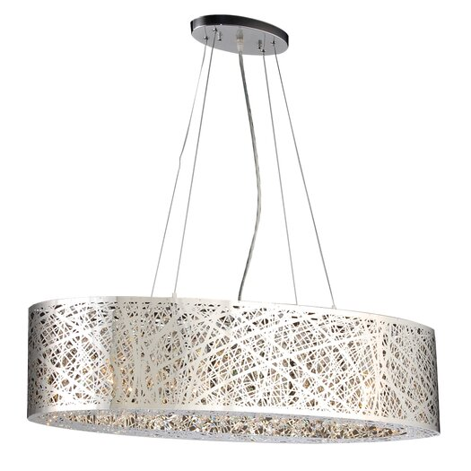 PLC Lighting Nest 6 Light Pendant