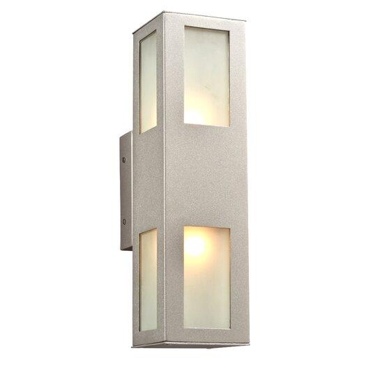 PLC Lighting Tessa 2 Light Outdoor Wall Sconce