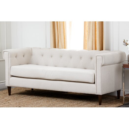 Abbyson Living Harrison Sofa in White