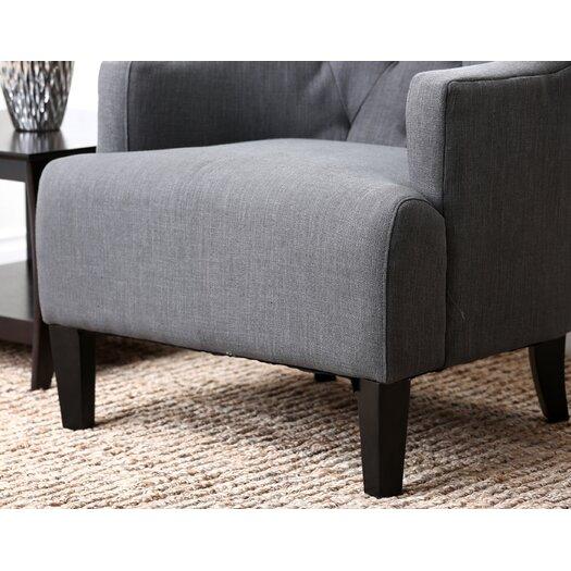 Abbyson Living Tesla Fabric Armchair