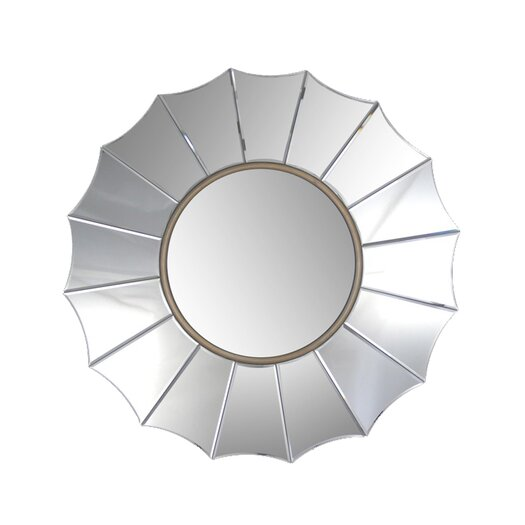 Abbyson Living Royal Round Wall Mirror