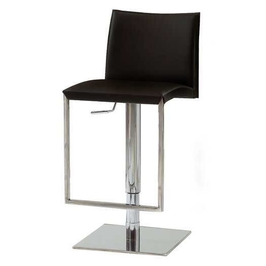 Bellini Modern Living Dixon Adjustable Height Swivel Bar Stool