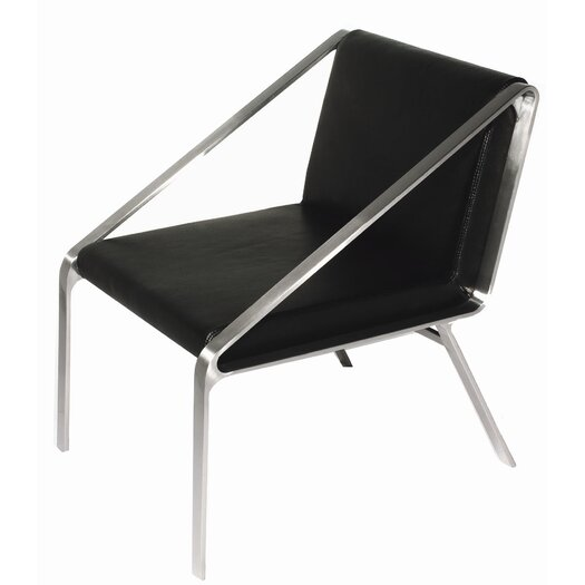 Bellini Modern Living Owen Leather Arm Chair