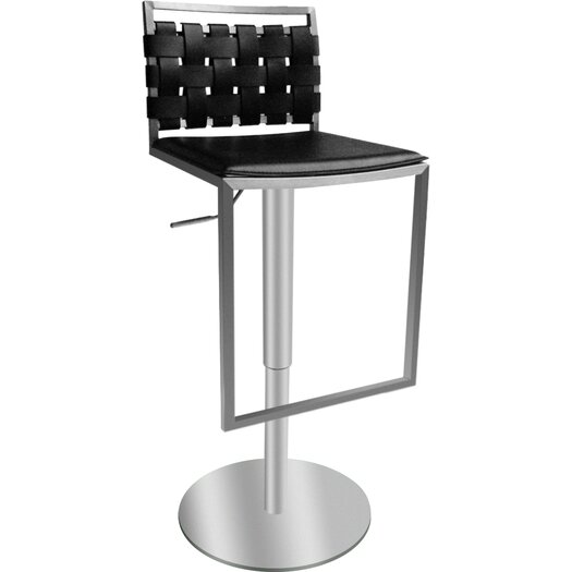 Bellini Modern Living Sigma Adjustable Height Swivel Bar Stool