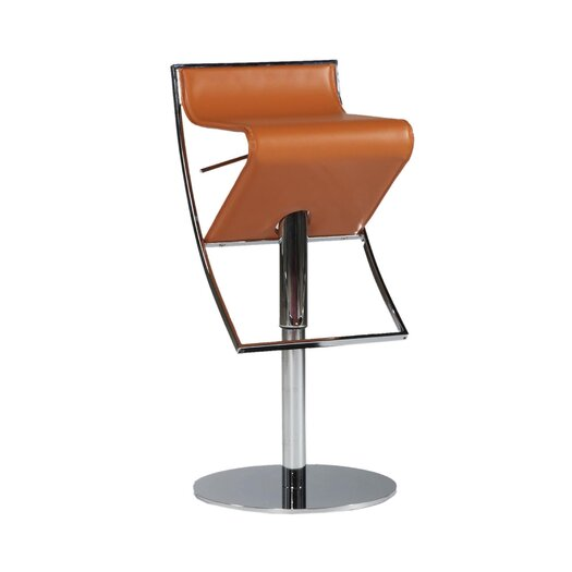 Bellini Modern Living Delta Adjustable Height Swivel Bar Stool