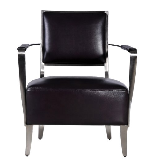 Bellini Modern Living Oscar Leather Chair