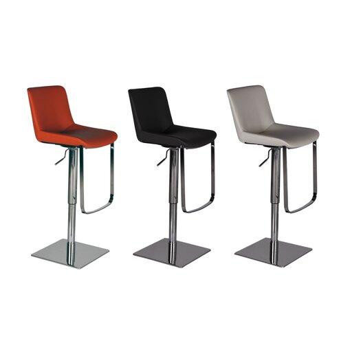 Bellini Modern Living Celeb Adjustable Height Swivel Bar Stool