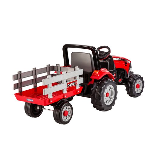 Peg Perego Case IH Tractor and Trailer